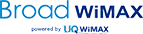 BroadWiMAX powered by UQ WiMAX